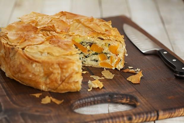 Butternut Filo Pasty Pie Recipe