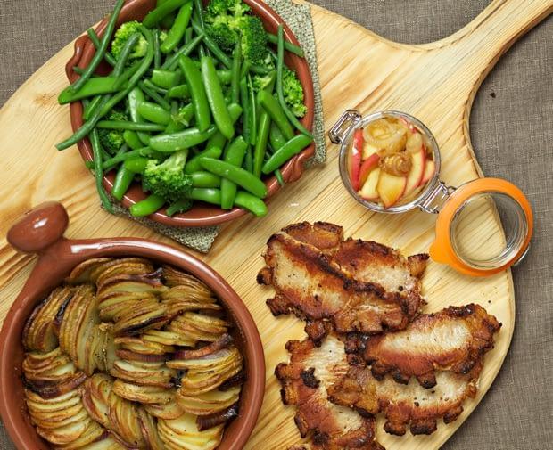 Pork steaks recipe