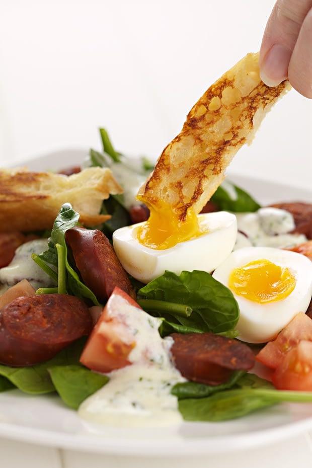 chorizo salad recipe