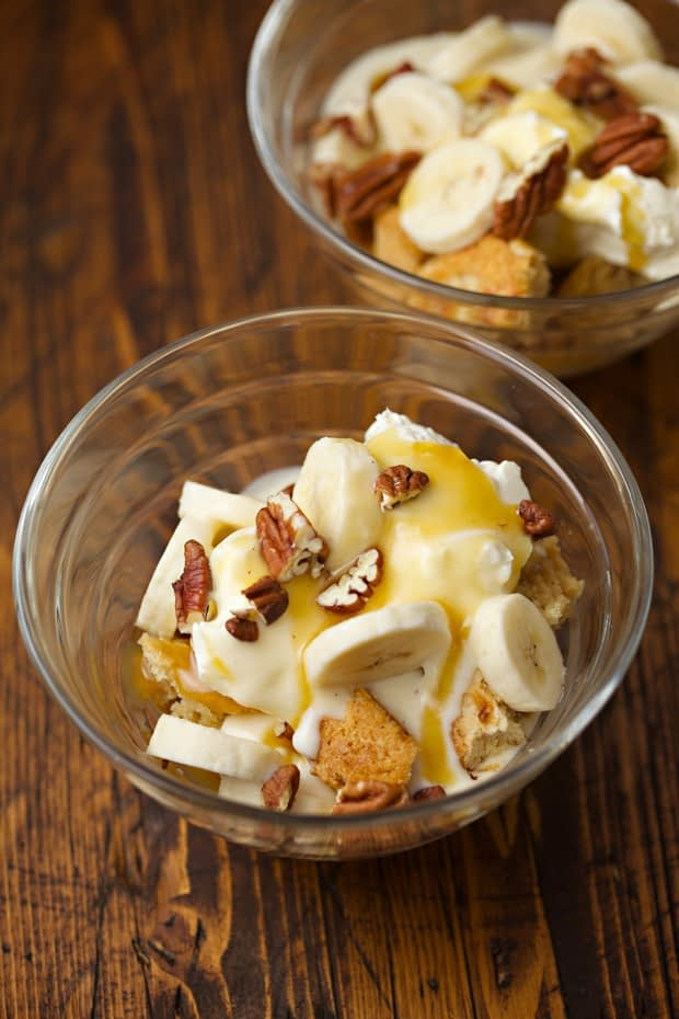 gluten-free bailey banana delight