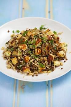 haloumi rice recipe