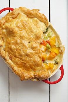 Butternut Squash and Brocolli Pie recipe