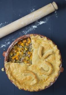 Lamb Pie Recipe with built in veg